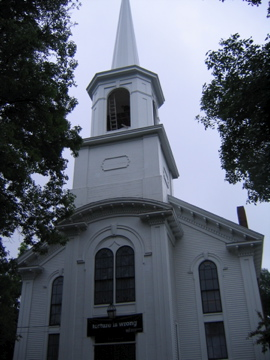 Yarmouth UU church