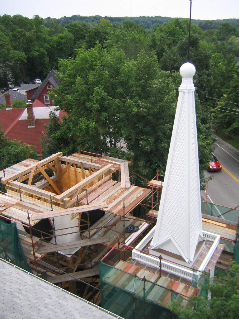 Churches Amp Steeples Preservation Timber Framing