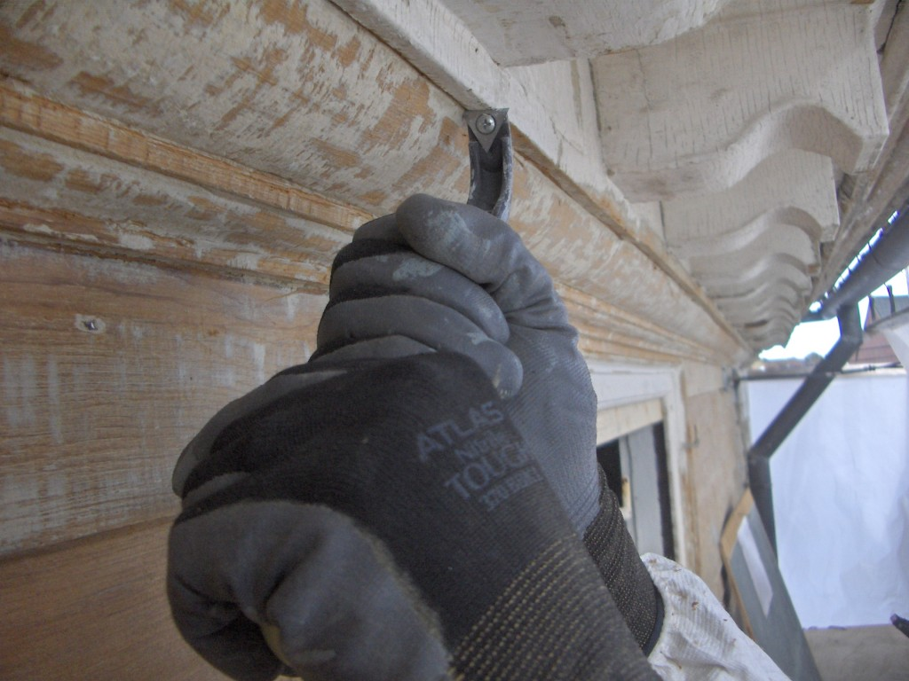 Scraping Bed Molding