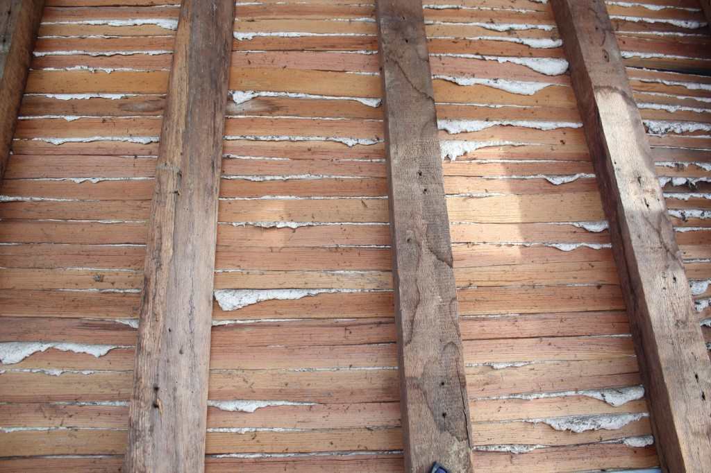 Split lath with the quality of stain-grade trim