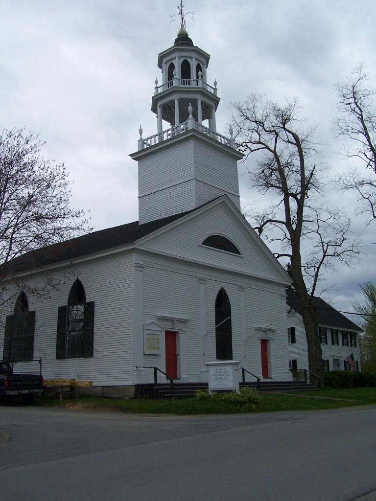 Castine First Parish Church, photos by Lee Hoagland