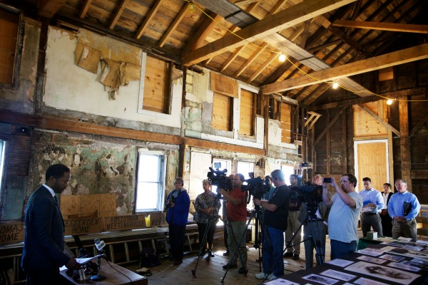 Abyssinian Meetinghouse, photo by Troy R. Bennet for the Bangor Daily News
