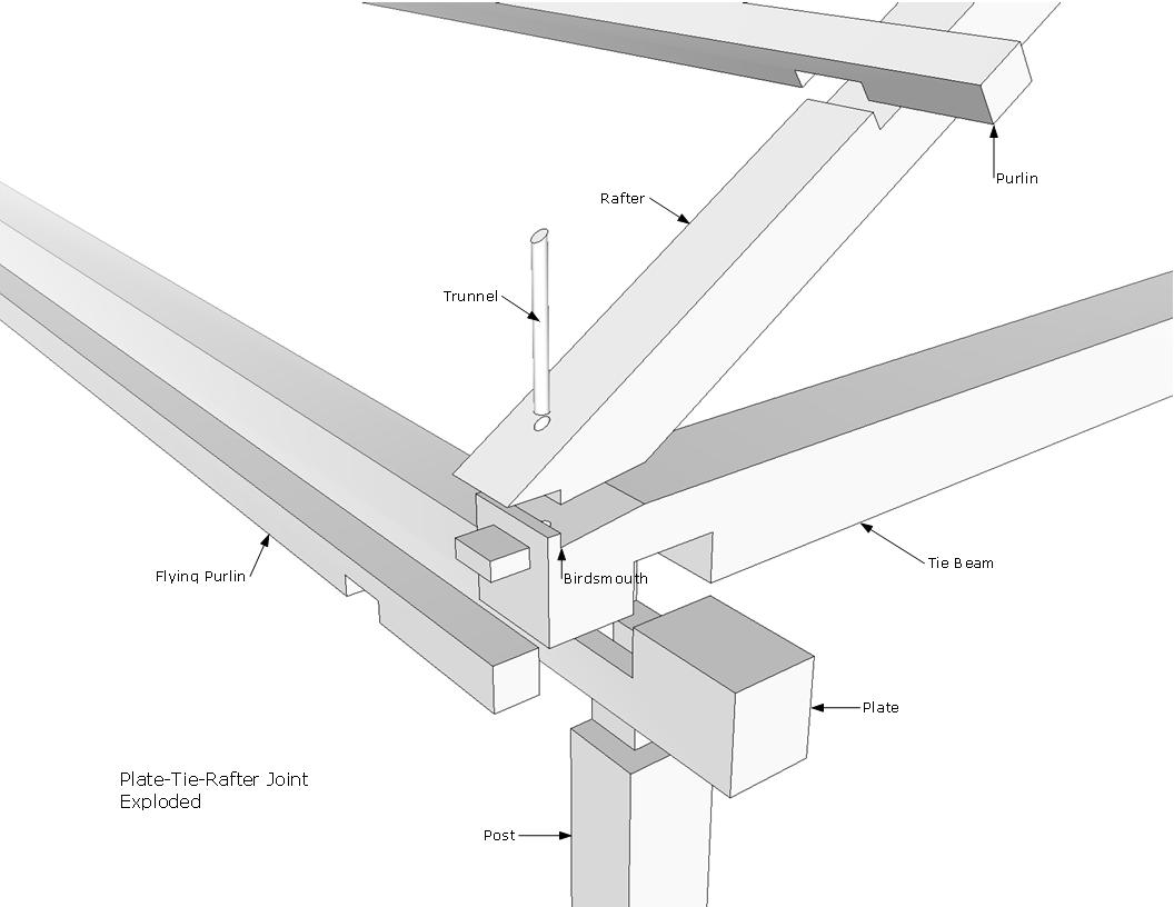 No Worms in this Birdsmouth | Preservation Timber Framing