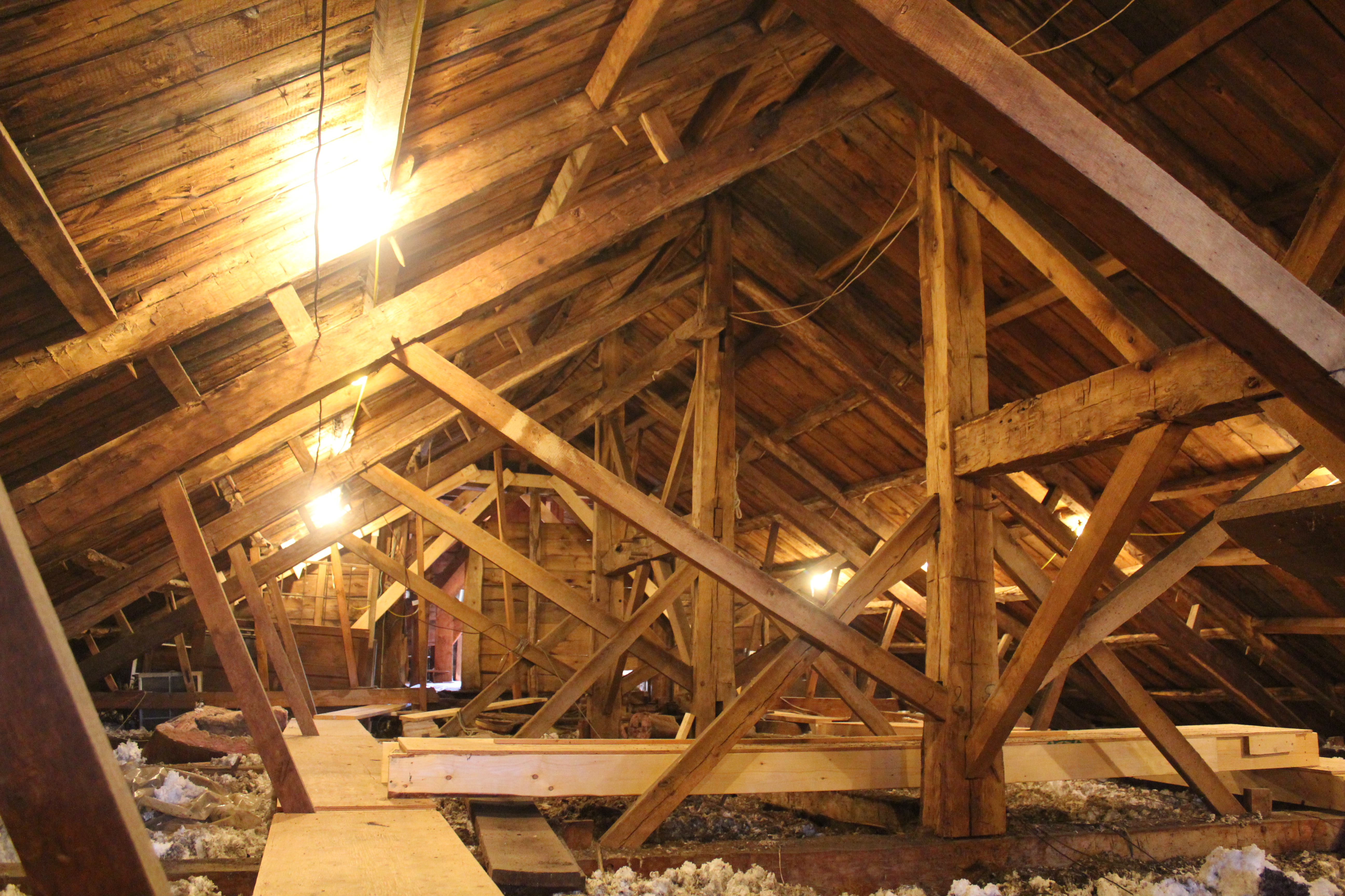 Parallel rafter chord truss | Preservation Timber Framing