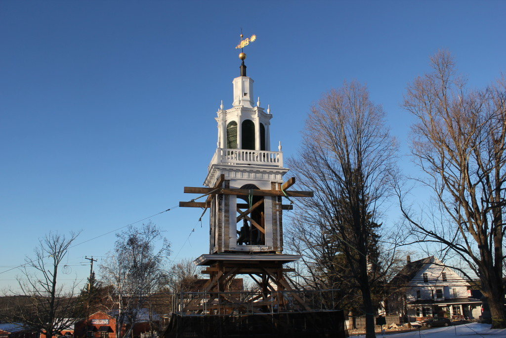 Steeple extracted