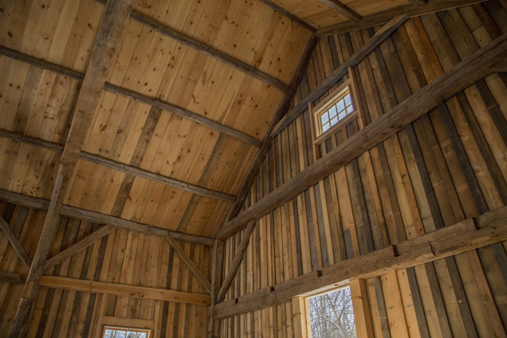 Jennison Barn Interior. Photo by Joshua McNally