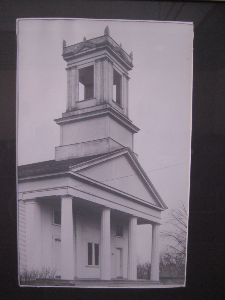 Early Photograph Northwood Congregational Church