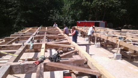 Eave fitting, photo by Dan Boyle